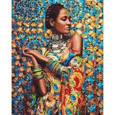"""Картина по номерам раскраска """"Принцесса Зимбабве"""""""