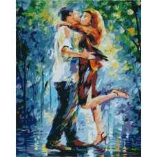 """Картина по номерам раскраска """"Влюбленные"""""""