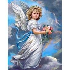 """Алмазная живопись """"Небесный ангел"""""""