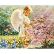 """Алмазная живопись """"Маленький ангел"""""""