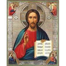 """Алмазная живопись """"Икона Иисуса Христа"""""""