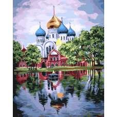 """Алмазная живопись """" Николо-Угрешский монастырь"""""""