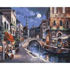 """Картина по номерам раскраска """"Улицы Венеции"""""""