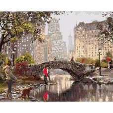 """Картина по номерам раскраска """"Гэпстоу парк. Нью-Йорк """""""