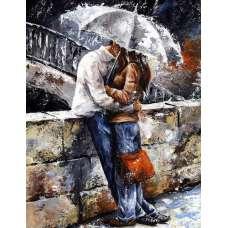 """Алмазная живопись """"Под зонтом"""""""