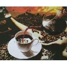 """Алмазная живопись """"Утренний кофе"""""""