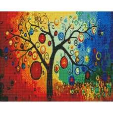 """Алмазная живопись """"Дерево счастья"""""""