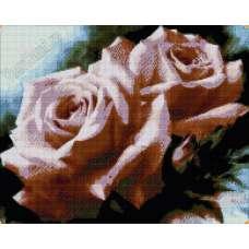 """Алмазная живопись """"Две розы"""""""
