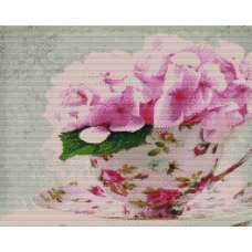 """Алмазная живопись """"Чаша с цветами"""""""