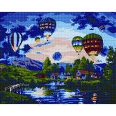 """Алмазная живопись """"Воздушные шары"""""""