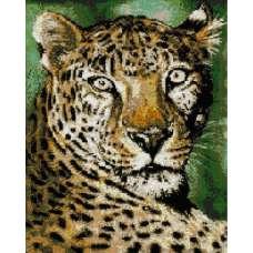 """Алмазная живопись """"Грациозный леопард"""""""