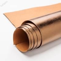 Крафт текстиль бронза лист 100х150см