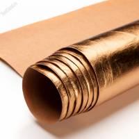 Крафт текстиль золото лист 100х150см