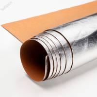 Крафт текстиль серебро лист 100х150см