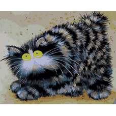 "Картина по номерам раскраска ""Котя"""