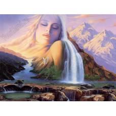 """Картина по номерам раскраска """"Мать природа"""""""
