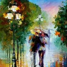 """Картина по номерам раскраска """"Дневной дождь"""""""