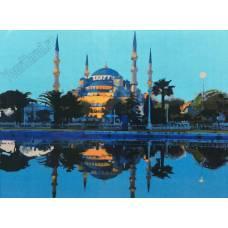 """Картина по номерам раскраска """"Мечеть"""""""