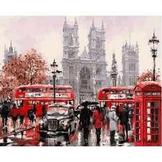"""Картина по номерам раскраска """"Лондонские будни"""""""