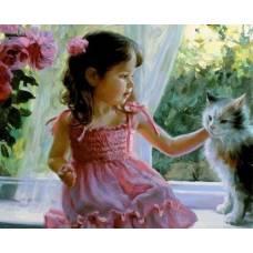 """Картина по номерам раскраска """"Будем дружить?"""""""