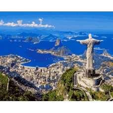 "Картина по номерам раскраска ""Рио-де-Жанейро"""