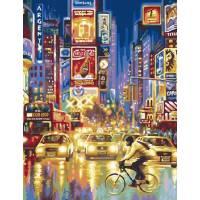 """Картина по номерам раскраска """"Нью-Йорк"""""""