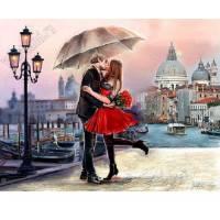 """Картина по номерам раскраска """"На фоне Венеции"""""""
