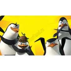 "Картина по номерам раскраска ""Пингвины Мадагаскара"""