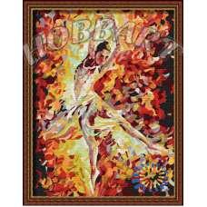 "Картина по номерам раскраска ""Балерина в танце"""