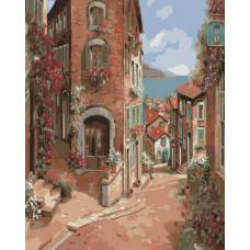 "Картина по номерам раскраска ""На улицах Италии"""