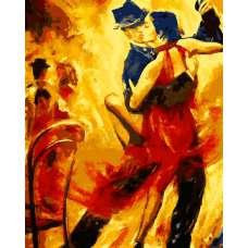 """Картина по номерам раскраска """"Танго вдвоем"""""""