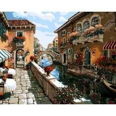 """Картина по номерам раскраска """"В Венеции"""""""
