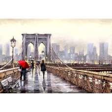 "Картина по номерам раскраска ""На мосту"""