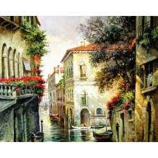 "Картина по номерам раскраска ""Улочки Венеции"""