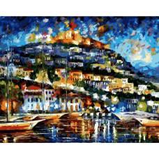 """Картина по номерам раскраска """"Греция - остров Лесбос"""""""
