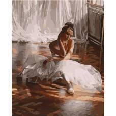 "Картина по номерам раскраска ""Балерина"""