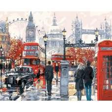 """Картина по номерам раскраска """"Виды Лондона"""""""