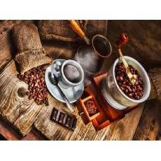 """Картина по номерам раскраска """"Утренний кофе"""""""