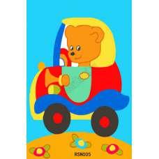 "Картина по номерам раскраска ""Медвежонок"""
