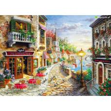 """Картина по номерам раскраска """"Итальянское побережье"""""""