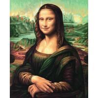 """Картина по номерам раскраска Schipper """"Мона Лиза"""""""