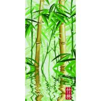 """Картина по номерам раскраска """"Бамбуковый лес"""""""