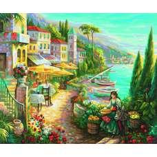 """Картина по номерам раскраска """"Белла Италия"""""""