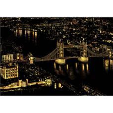 "Скретч картина ""Лондон"""