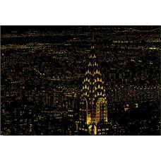 """Скретч картина """"Нью-Йорк"""""""