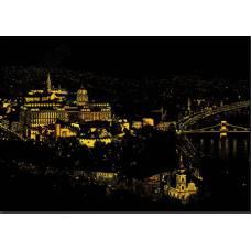 "Скретч картина ""Будапешт"""
