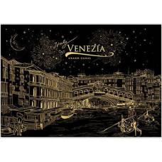 """Скретч картина """"Венеция"""" гор."""