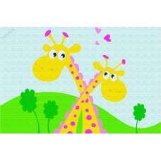Картина по номерам PA042 'Жирафики'